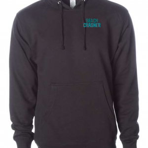 Midnight Black Beach Crasher Tri-blend Sweatshirt