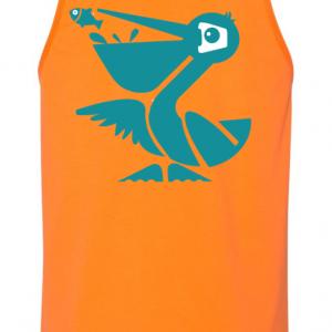 Clownfish Orange Beach Crasher Tank Top