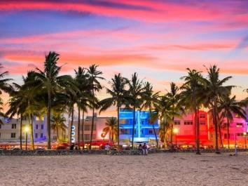 Beach New Year in 2021