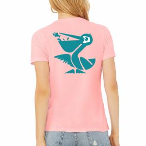 Pink Lemonade Beach Crasher Women's Relaxed Fit Tri-blend Tee