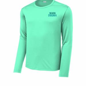 Seafoam Beach Crasher Sport-Tek UV Long Sleeve Tee