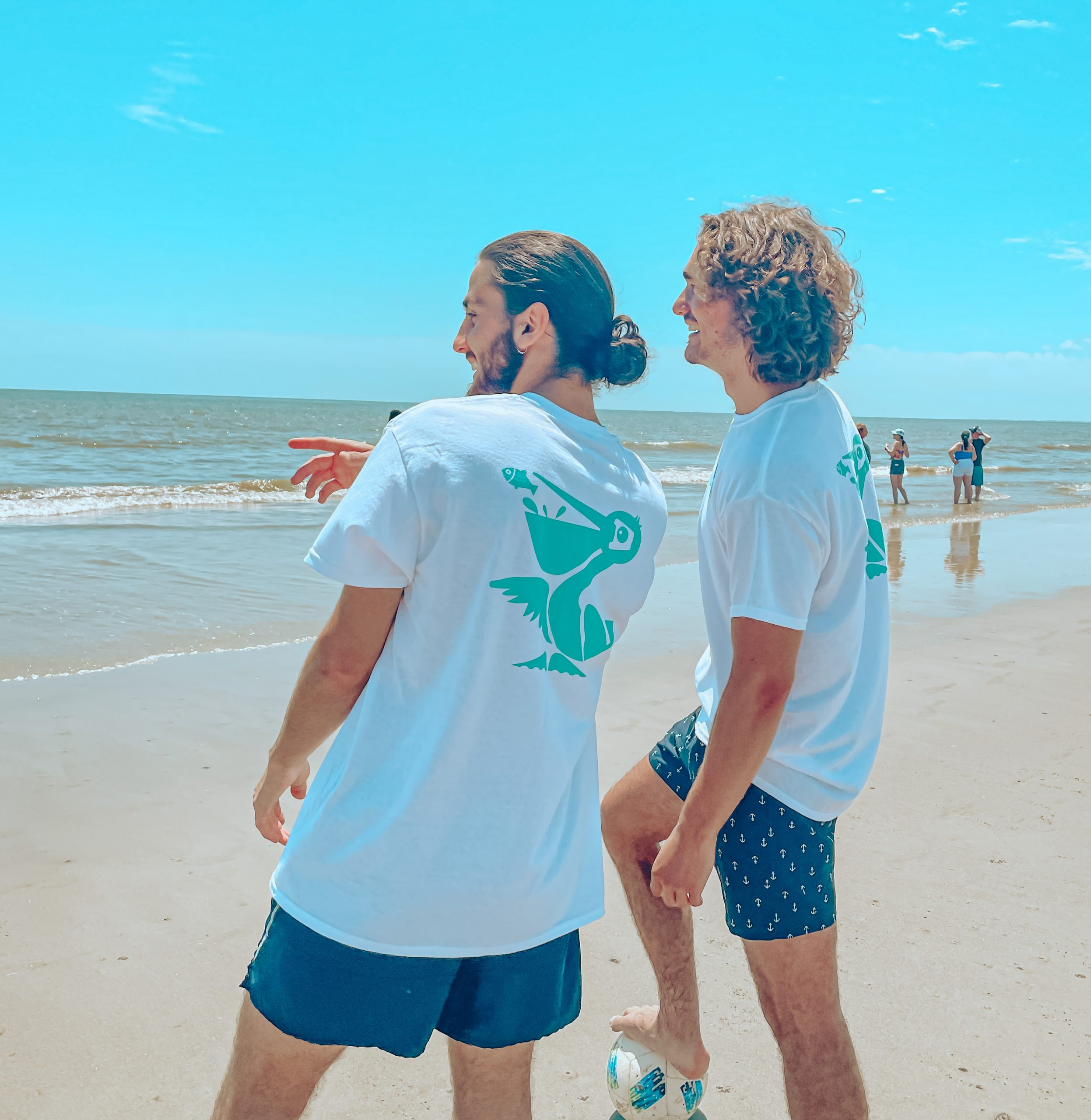We appreciate you sporting our tees - HHI.