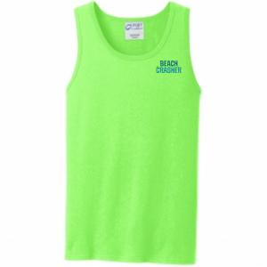 Neon Green Beach Crasher Tank Top
