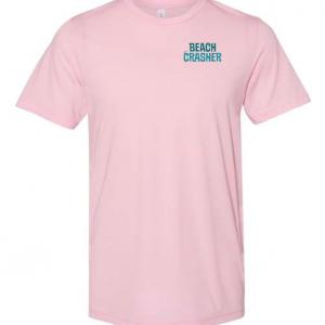 Pink Beach Crasher Tri-blend Tee